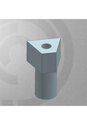 Scan-bodies compatible with Straumann-Std WN (Wide Neck)  6.5